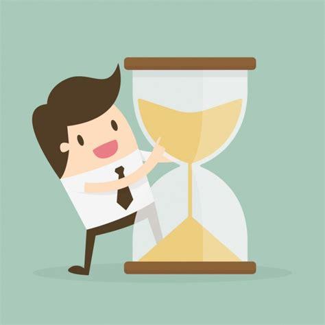 tiempo de arena finalista 8408104837 administraci 243 n del tiempo con reloj de arena y trabajador descargar vectores gratis