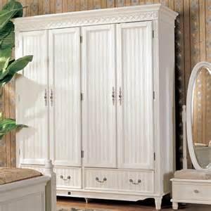White Wood Wardrobes by Wood Furniture Manufacturers White Wooden Wardrobe Designs