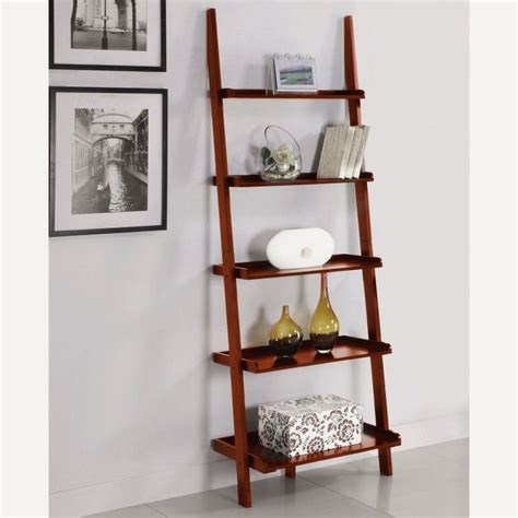 ladder bookcase plans leaning ladder shelf plans tips and products