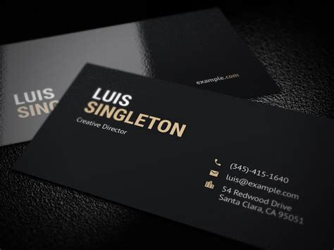 Chef Business Card Template Photoshop by Business Card Template Psd By Horea Nicodin Dribbble