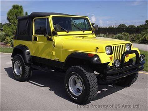 87 Jeep Wrangler For Sale Purchase Used 87 Yj Cold A C Clean Carfax Auto Kc 4 2l