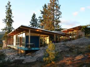 Cabin Plans Modern Slope Mountain Cabin House Plans Modern Mountain Cabins