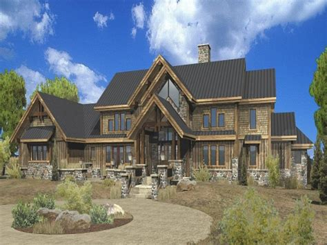 large estate log home floor plans luxury mountain log