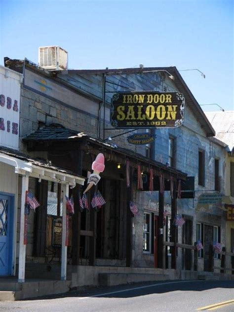 ness hubber on the west coast the iron door saloon