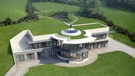 eco friendly home kay associates architects isle of man eco house