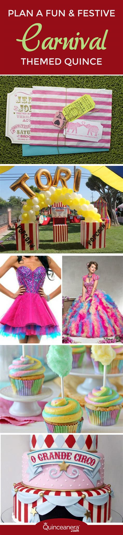 wordpress themes carnival plan a fun festive carnival themed quince quinceanera