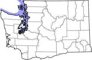 Blank Outline Map Of Washington State by Blank Map Of Washington State Get Domain Pictures