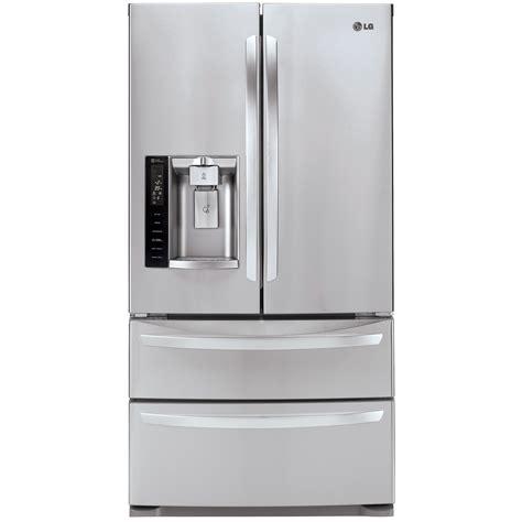 Sears Door Refrigerators lg stainless steel 26 8 cu ft ultra capacity 4 door