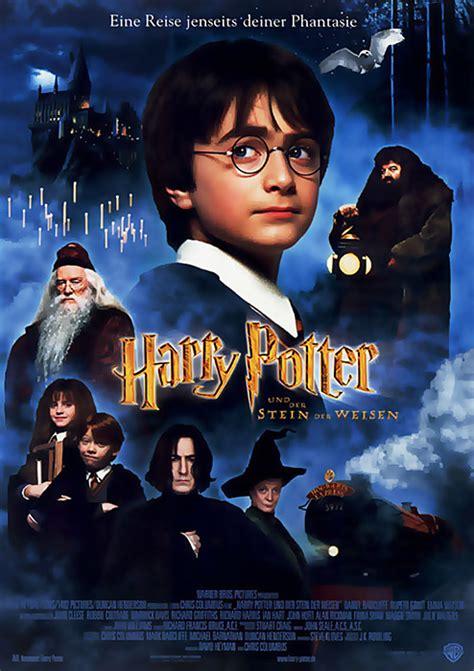 Plakat Harry Potter by Filmplakat Harry Potter Und Der Stein Der Weisen 2001