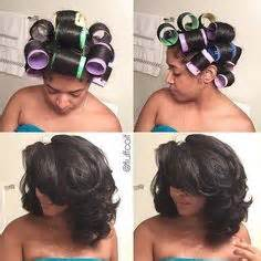 roll and set hairstyles mielle white pony magnetic roller set pinteres