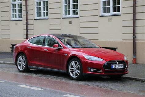 Wiki Tesla Datei Tesla Model S In Trondheim Jpg