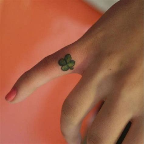 4 leaf clover tattoos 30 four leaf clover tattoos to ink