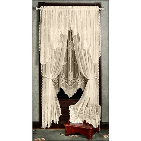 Brown Lace Curtains Pin By Dollie Brown On Lace Curtains Pinterest