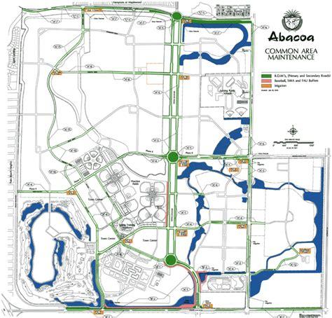 common area maintenance map abacoa poa