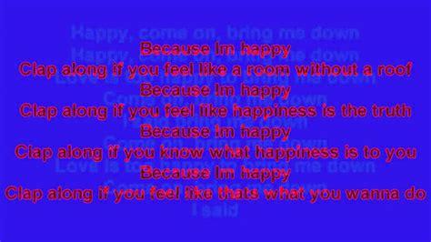 happy pharrell testo happy pharrell williams testo mp4