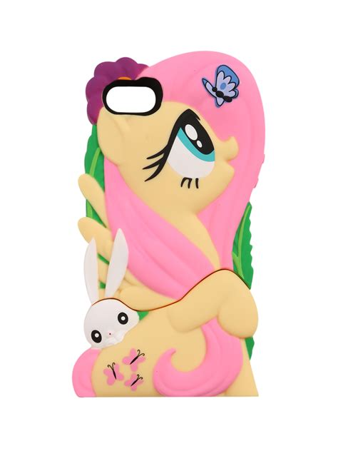 Casing 3d Pony Iphone 5 5s My Pony Chara Covers Fluttershy Iphone 4 4s