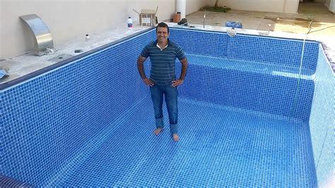 azulejo piscina reforma piscina azulejo esta azzuro piscinas afins