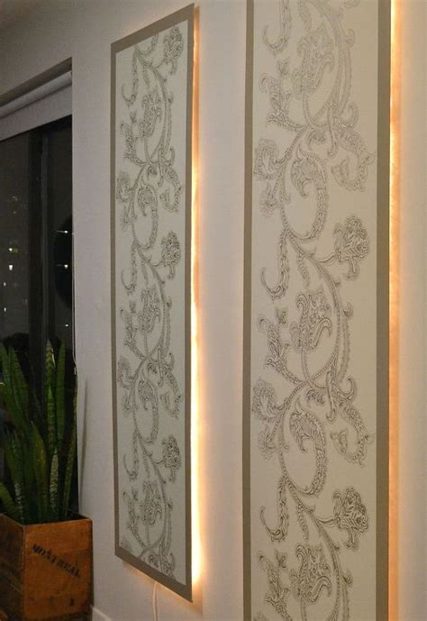 Home Decor Wall Panels by Diy Lighted Wall Panel Hometalk