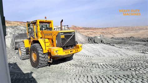 volvo   loading trucks youtube