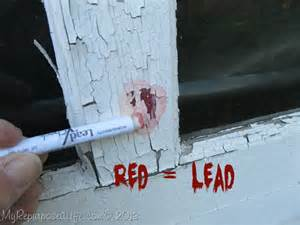 at home lead test chippy garage door with lead paint my repurposed