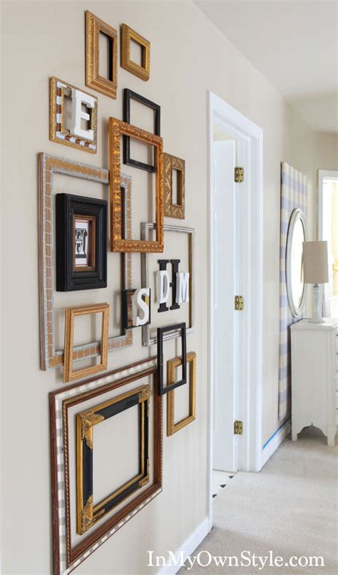 Wall Frames Decor by 1000 Images About Empty Frames Diy Wall On