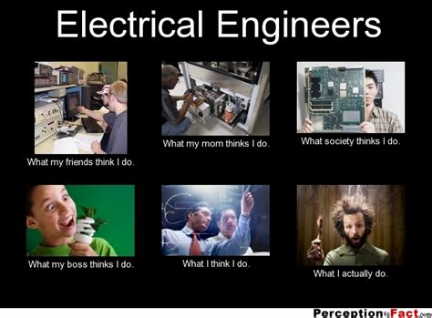 Electrical Meme - electrical engineers what people think i do what i