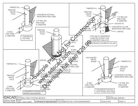 free pole barn plans blueprints pole barn floor plans sds plans