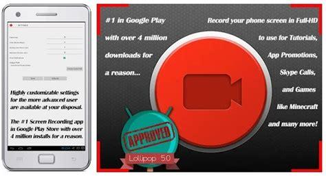aplikasi perekam layar terbaik  hp android