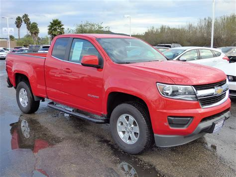 truck colorado 2015 chevrolet colorado extended cab work truck for sale