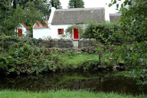 donegal cottages rathmullan thatched cottage in county donegal ireland