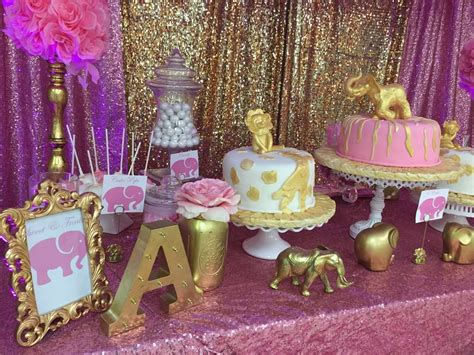 Pink Safari Baby Shower Ideas by Pink Gold Safari Baby Shower Ideas Photo 1 Of 21