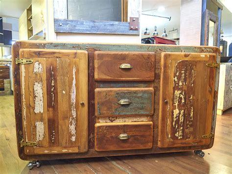 credenza offerta credenza vintage legno riciclato in offerta prezzo outlet