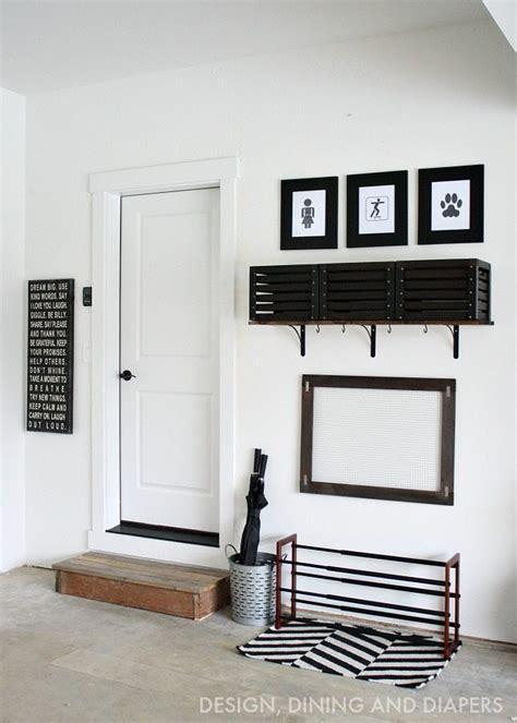 garage mudroom designs diy simple garage mudroom whiteaker