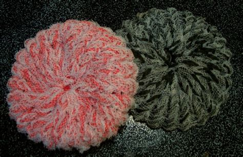 knitted scrubbies netting canadian crafter scrubbies