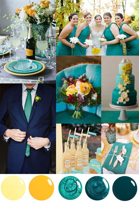 color theme ideas 5 unique wedding color palettes inspired by nail polish