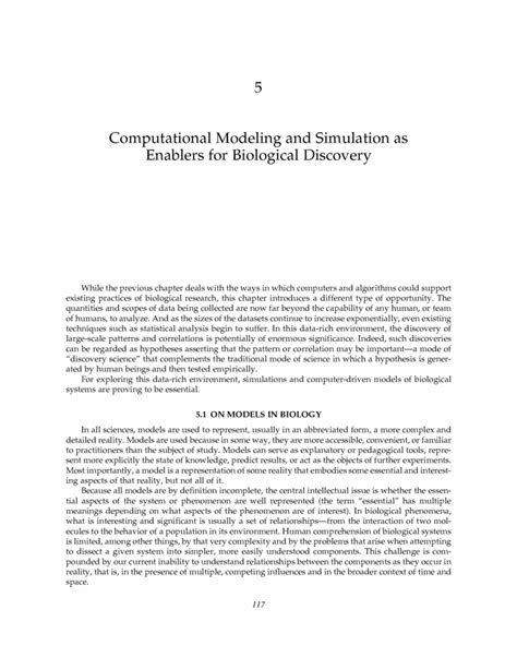 Research For Biology Faculty Template Catalyzing Inquiry At The Interface Of Computing And Biology