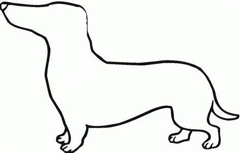 dachshund puppies coloring pages dachshund coloring page coloring home