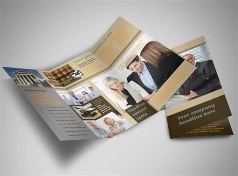 Can You Own A Business With A Criminal Record Criminal Defense Tri Fold Brochure Template
