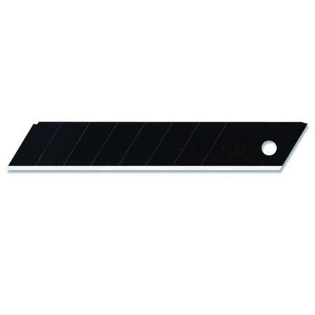 Olfa Lbb 10b Ultra Sharp Heavy Duty Blade 1 olfa lbb 10b 18mm ultra sharp excel black snap blades 10 pack