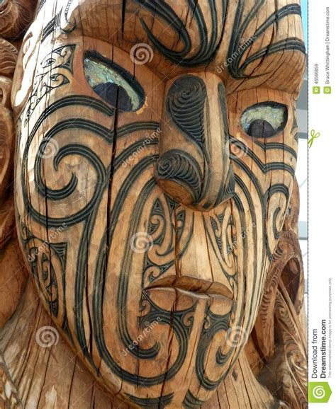 tattoo prices nz maori wood carving new zealand stock image image 46566859