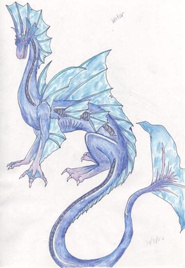 water dragon tattoo designs water design by powerdeviantart on deviantart