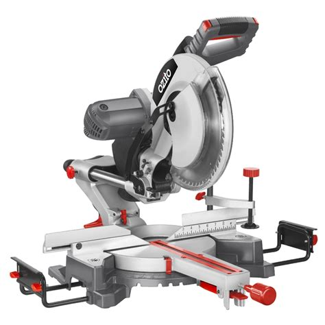 ozito bench saw ozito 2000w 305mm 12 quot sliding compound mitre saw i n