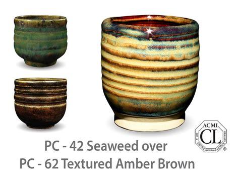 amaco glaze pc 42 seaweed pc potter s choice amaco
