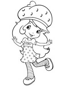 strawberry shortcake colotring pages