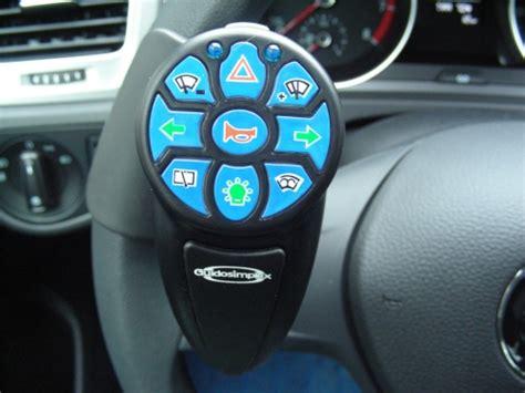 auto con comandi al volante per disabili centralina comandi volante a infrarossi per guida disabili