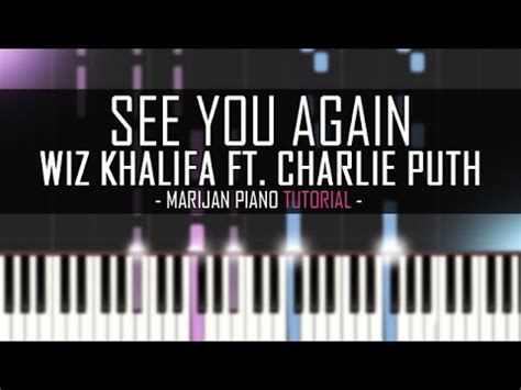 tutorial piano see you again how to play wiz khalifa ft charlie puth see you again