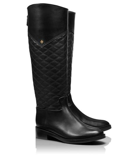 burch boots lyst burch claremont boot in black