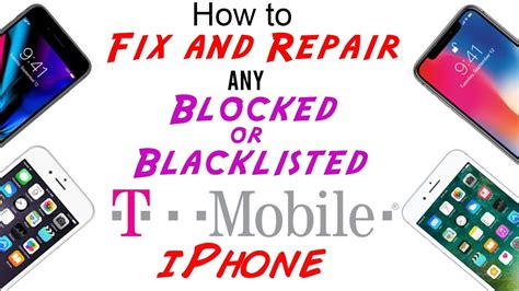 fix repair t mobile blocked blacklisted imei cleaning for any iphone xs xs max xr x 8 8 7 7 6s