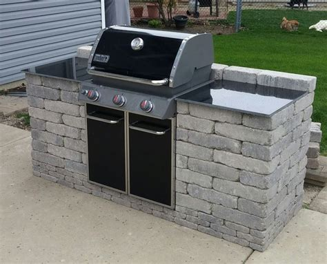 image result for diy built in bbq outdoor rooms