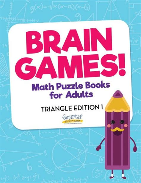 picture puzzle books for adults brain math puzzle books for adults triangle